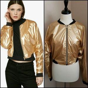 deb9fa5c JESS GLYNNE X BENCH Jackets & Coats - 😎 JESS GLYNNE x BENCH CROP BOMBER  JACKET